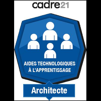 Aides technologiques à l'apprentissage 2 - Architecte
