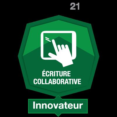 Écriture collaborative 4 - Innovateur
