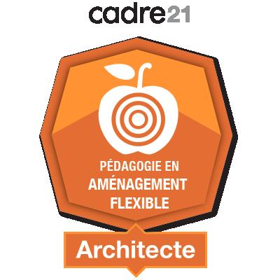 Pédagogie en aménagement flexible 2 - Architecte