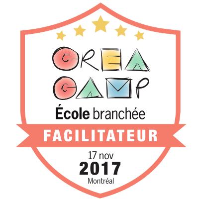 CréaCamp Montréal novembre 2017 - Facilitateur
