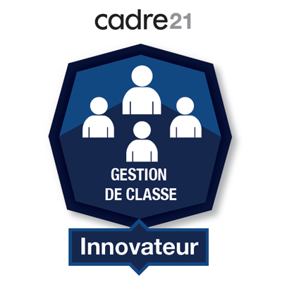 Gestion de classe 4 - Innovateur