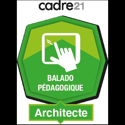 Balado pédagogique 2 - Architecte