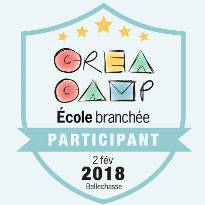 CréaCamp Bellechasse février 2018 – Participant