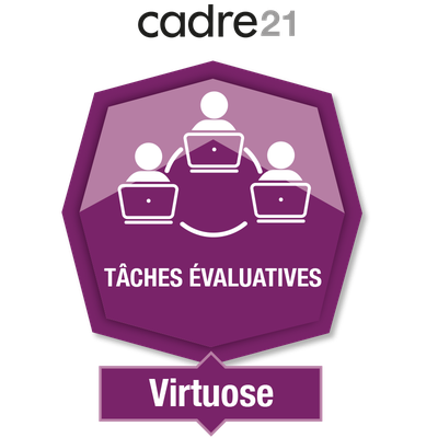 Tâches évaluatives en FAD 3 – Virtuose