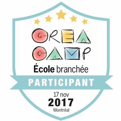 CréaCamp Montréal novembre 2017 - Participant