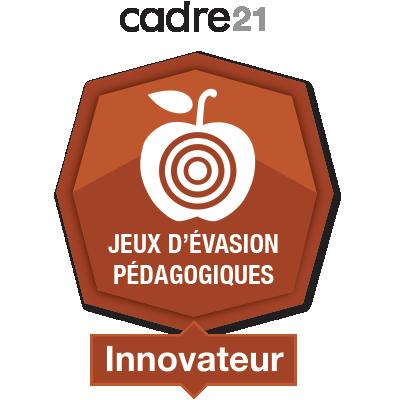 Jeux d'évasion pédagogiques 4 - Innovateur