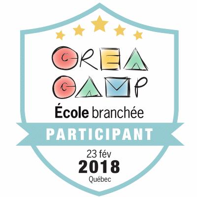 CréaCamp Québec février 2018 – Participant