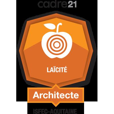 Laïcité - 2 - Architecte