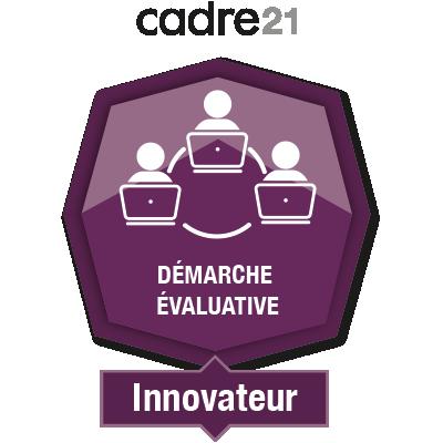 Démarche évaluative en FAD 4 - Innovateur