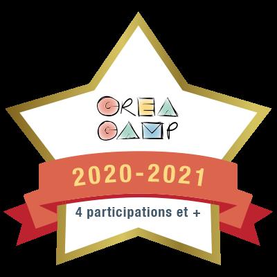 CréaCamp 4e participation 2020-2021