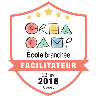 CréaCamp Québec février 2018 – Facilitateur