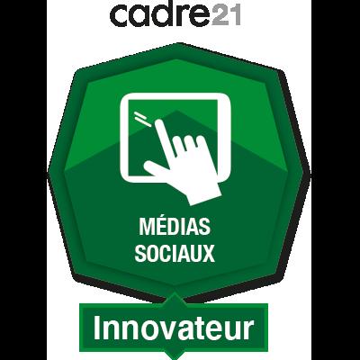 Médias sociaux 4 - Innovateur