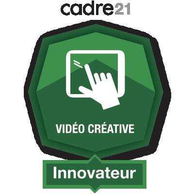 Vidéo créative 4 – Innovateur
