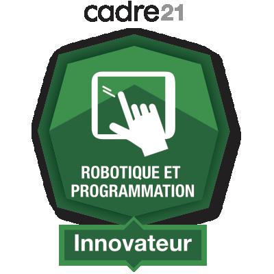 Robotique et programmation 4 – Innovateur