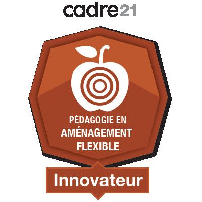Pédagogie en aménagement flexible 4 - Innovateur
