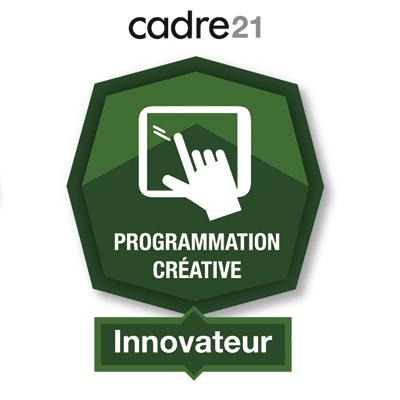 Programmation créative 4 - Innovateur