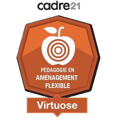 Pédagogie en aménagement flexible 3 - Virtuose