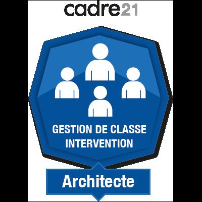 Gestion de classe - Intervention 2 - Architecte