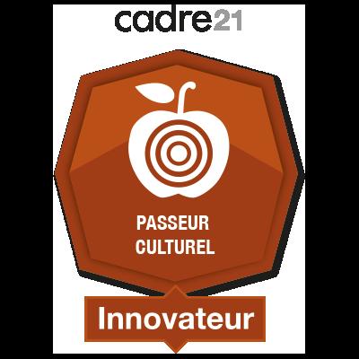 Passeur culturel 4 – innovateur