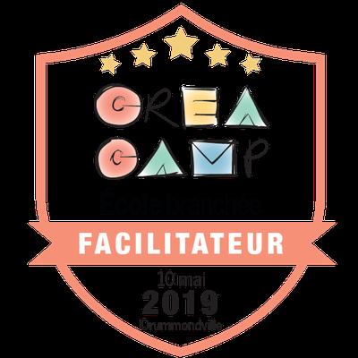 CréaCamp Drummondville mai 2019 – Facilitateur