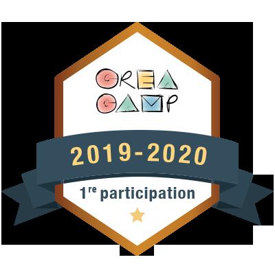 CréaCamp 1re participation 2019-2020