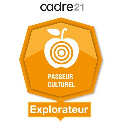 Passeur culturel 1 – Explorateur badge émis à hg791080@ens.uqam.ca