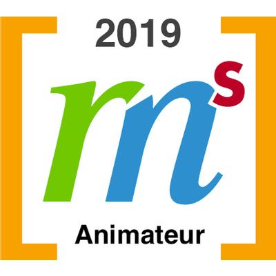 Animateur au congrès GRMS en 2019