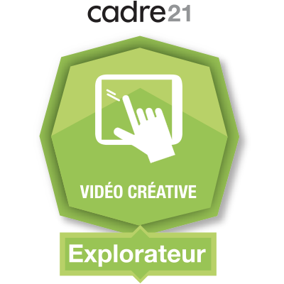 Vidéo créative 1 - Explorateur