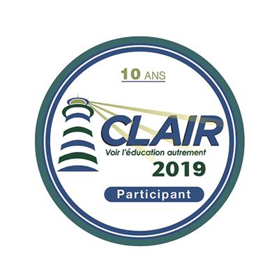 Clair 2019 - participant badge émis à leblancc@feep.qc.ca
