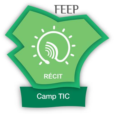 RÉCIT Camp Tic 2019-2020 badge émis à fricher@collegenf.ca