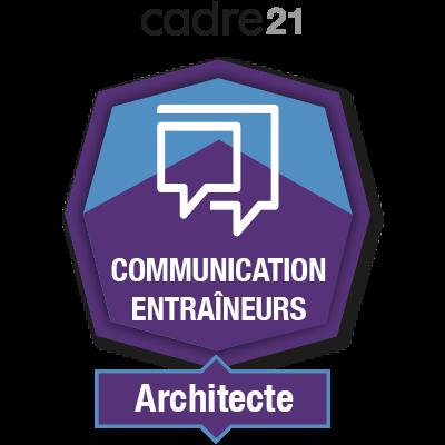 Communication Entraîneurs 2 - Architecte