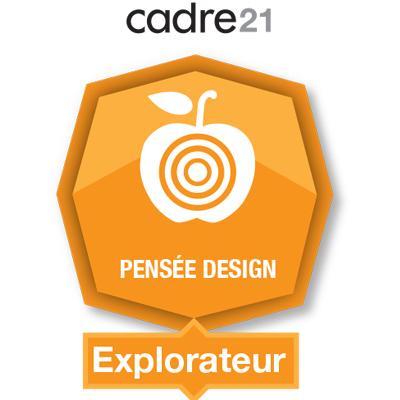 Pensée design 1 - Explorateur badge émis à eagomez.qcn@ecolevision.com