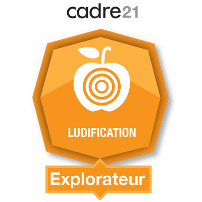 Ludification 1 - Explorateur badge émis à eroy@vanguardquebec.qc.ca