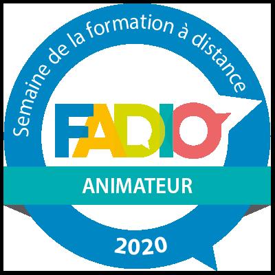 Semaine de la formation à distance 2020 - Animateur