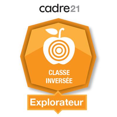 Classe inversée 1 - Explorateur badge émis à ouellette.lorraine@cegepvicto.ca