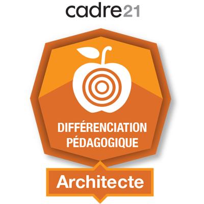 Différenciation pédagogique 2 - Architecte