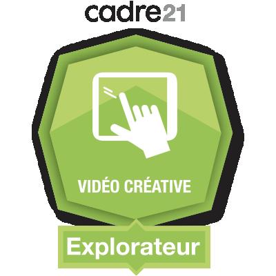 Vidéo créative 1 - Explorateur badge émis à chantal.nolet@csbe.qc.ca