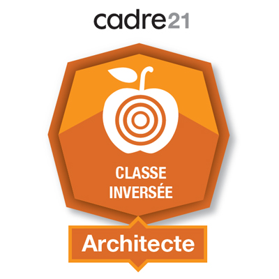 Classe inversée 2 - Architecte badge émis à chantal.nolet@csbe.qc.ca