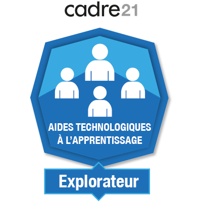 Aides technologiques à l'apprentissage 1 - Explorateur