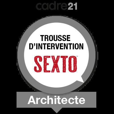 Sexto 2 - Architecte badge émis à johanne.fiset@csssh.gouv.qc.ca