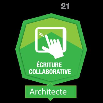 Écriture collaborative 2 - Architecte