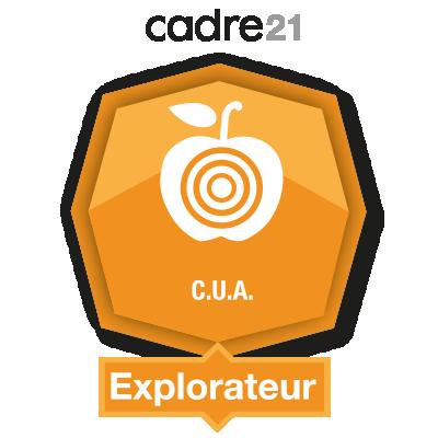 Conception universelle de l'apprentissage 1 - Explorateur badge émis à mlacroix@marie-clarac.qc.ca