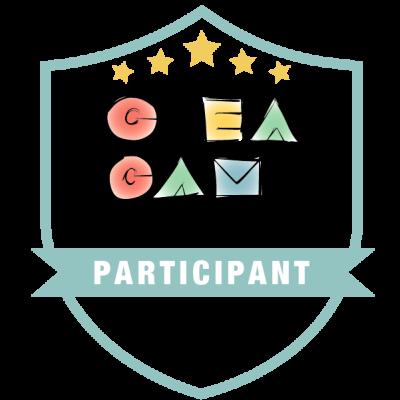 CréaCamp Québec avril 2019 – Participant badge émis à lyse-andree.maheux@csbe.qc.ca