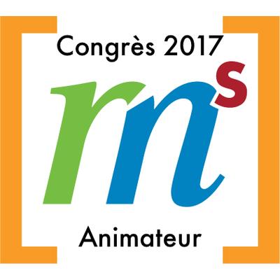 Animateur au congrès GRMS en 2017