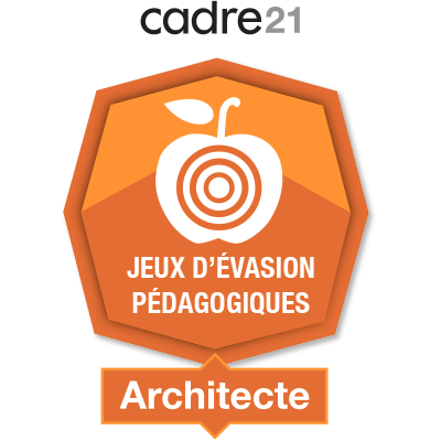 Jeux d'évasion pédagogiques 2 - Architecte