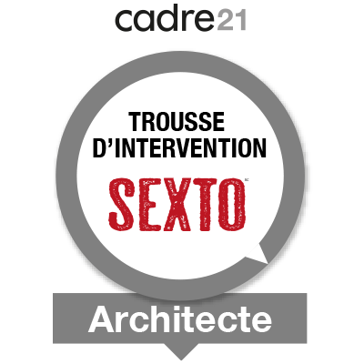 Sexto 2 - Architecte badge émis à ccote@cppq.qc.ca