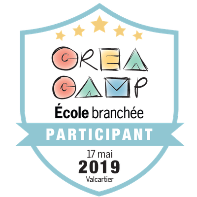 CréaCamp Valcartier mai 2019 - Participant