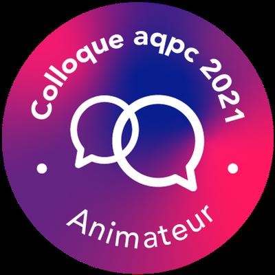 AQPC 2021 - Animateur