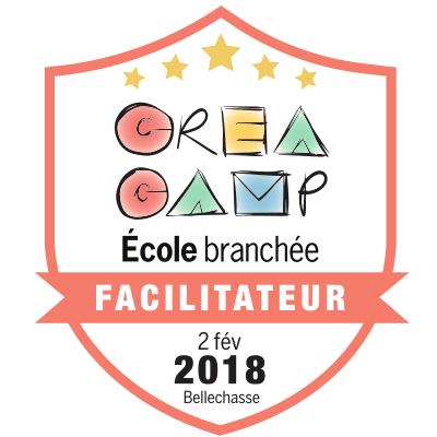CréaCamp Bellechasse février 2018 – Facilitateur