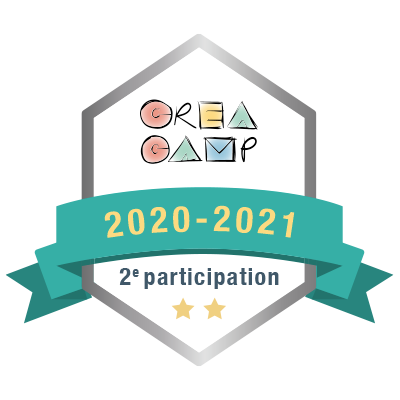 CréaCamp 2e participation 2020-2021